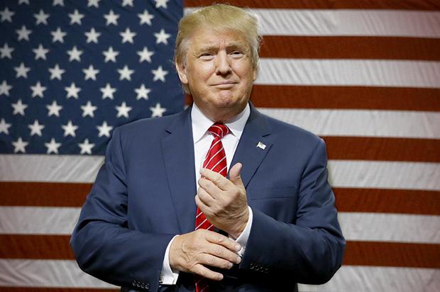 دونالد ترامپ - مردی که برای پول نیامده است