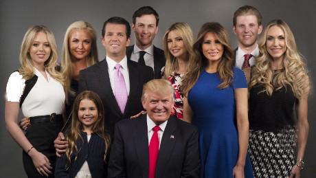 خانواده آقای دونالد ترامپ